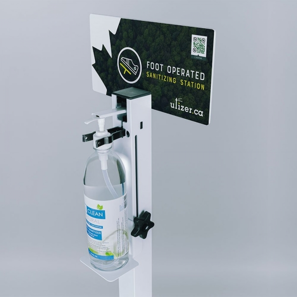 The Utizer Sanitizer Dispenser