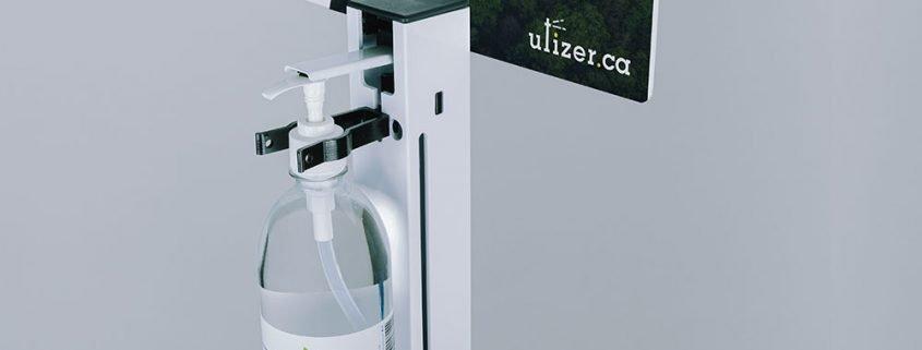 The Utizer Sanitizer Dispenser