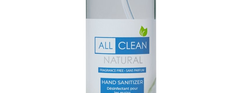 AW All Clean Hand Sanitizer, Sales and Distribution Alberta - Medical PPE