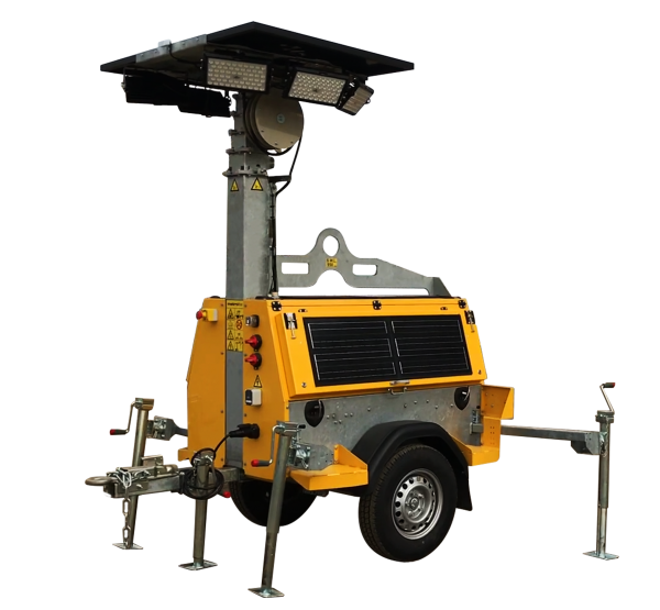 Solar Hybrid Light Tower -Construction Equipment Sales & Rentals - AW Sales and Distribution Alberta