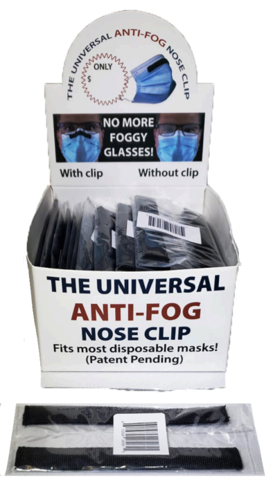 Anti-fog Nose Clip - AW Sales and Distribution Alberta - Medical PPE