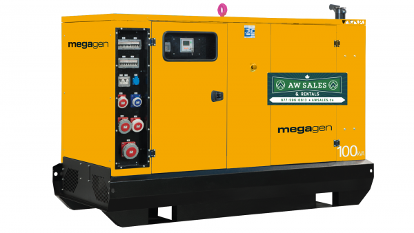 MegaGen Z Series Generator - Construction Equipment Sales & Rentals - AW Sales and Distribution Alberta